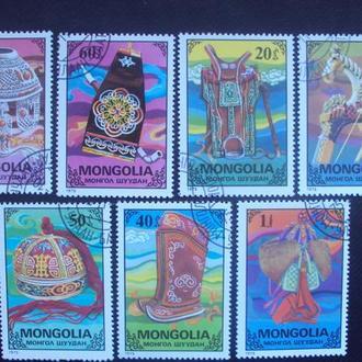 Монголия 1975г.гаш.