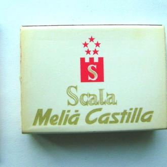 Спички 1 коробок Oтель 5* Мадрид Испания 1984