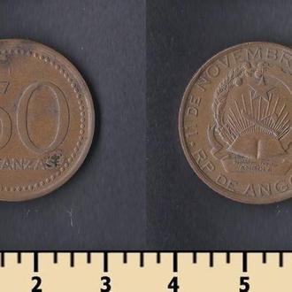 Ангола 50 кванза 1978-1991