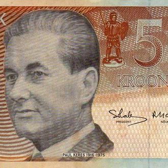 Эстония 5 крон 1994г