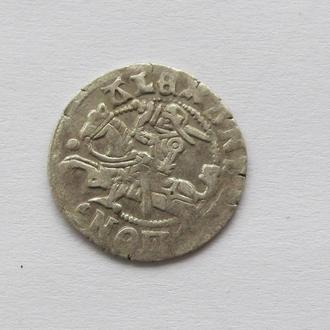 полугрош 1501-1506гг Александр Ягелончик , Литва, Вильно (А18)