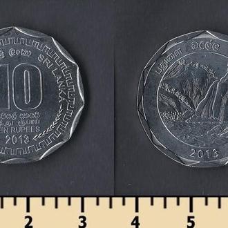 Шри Ланка 10 рупий 2013