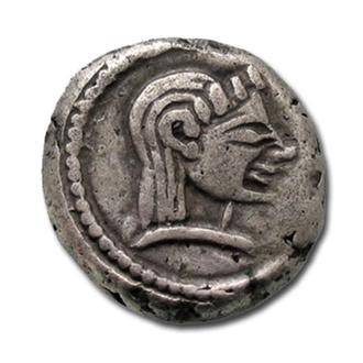 (А)2678 - Колхида (до 470 до н.э.) AR Гемидрахма