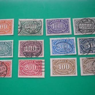 Германия  1922-1923 Инфляция  полн.
