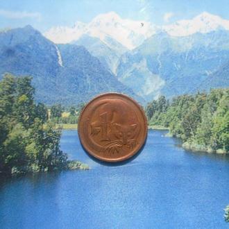 Австралия 1цент 1966г