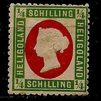 Немецкие земли, Helgoland*, 1873 г., марка № 8, тип b