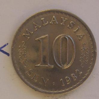 МАЛАЙЗИЯ, 10 сен 1982 года (состояние).