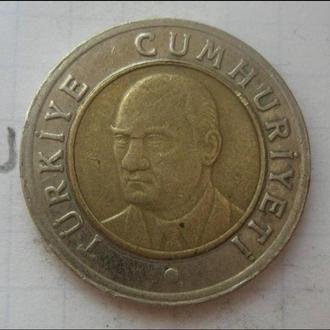 ТУРЦИЯ, 1 лира 2006 года.