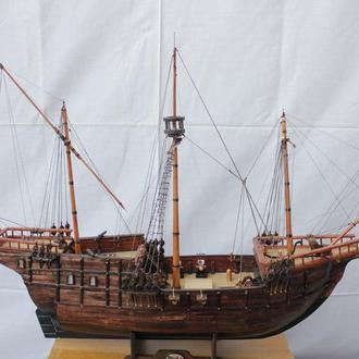 "Рангоутная модель каравеллы Х.Колумба ""Pinta"""