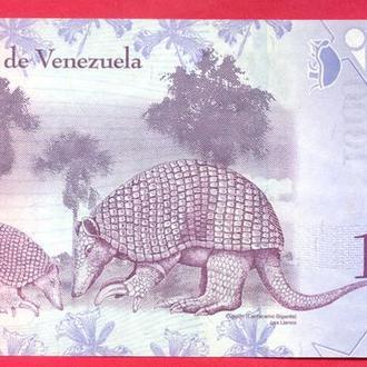 Боны Америка Венесуэла 1000 боливаров 2017 г.
