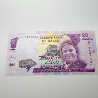 Малави 20 квача 2006, пресс, unc
