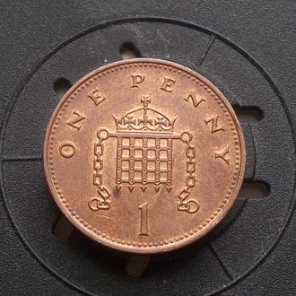 Великобритания 1 пенни 1996