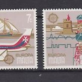 Мальта 1979 EUROPA CEPT История почты