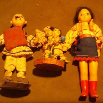 Колекція етноляльок з Молдавії