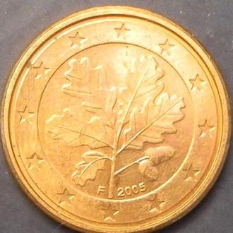 1 євроцентів 2005 F Німеччина