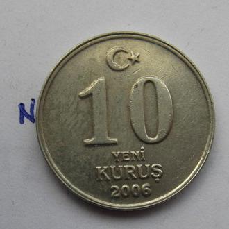 ТУРЦИЯ, 10 курушей 2006 г.