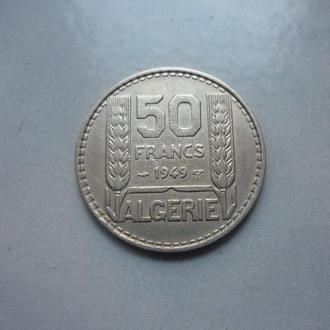 Алжир 50 франков 1949