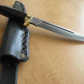 Нож. Воронение.