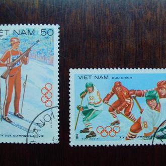Вьетнам.1984г. Зимние олимпийские игры.