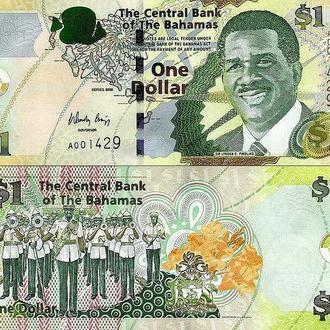Багамы - 1 доллар 2008 UNC