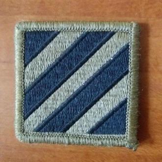Емблема 3-й пехотної дивізії ЗС США. Оригінал.