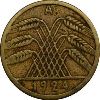 Німеччина 5 Pfennig 1924 A