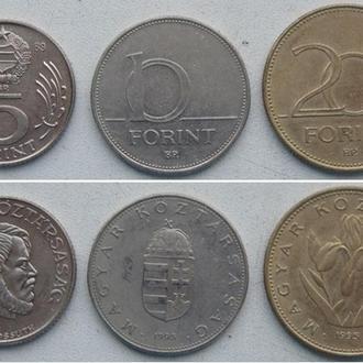 ТРИ монеты Одним лотом. Венгрия
