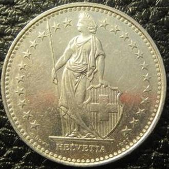 1 франк 1989  B  Швейцарія