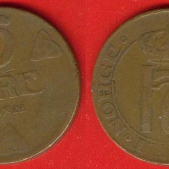 Норвегия, 5 оре, 1922 г.