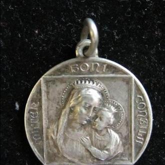 Медальйон Pivs XI pont max. Срібло.