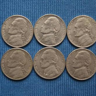 США 5 центов 1994 г  D