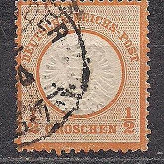 Рейх, 1872 г., первые марки, № 18
