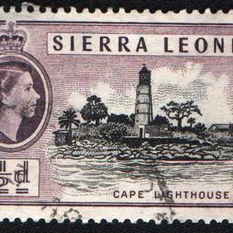 Сьерра-Леоне (1956) Британская колония. Маяк