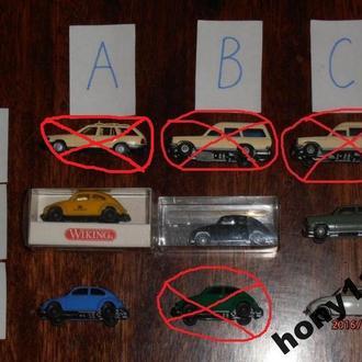 Автомобили фирм Wiking, Herpa M 1:87 НО