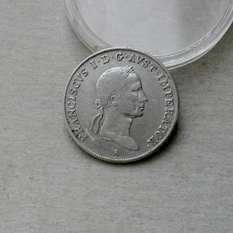 Австро-Венгрия 20 крейцеров 1831 А