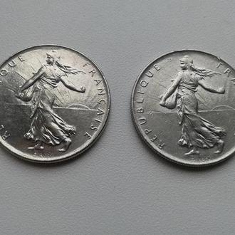 1 франк 1977,1978рр.