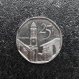 Куба 25 сентаво, 2008