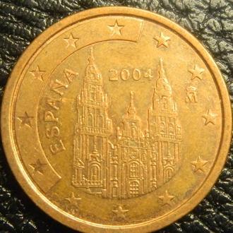 5 євроцентів 2004 Іспанія