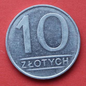 10 злотих 1987 р. Польша.