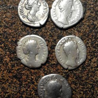 Коллекция8.Посмертные денарии Рима