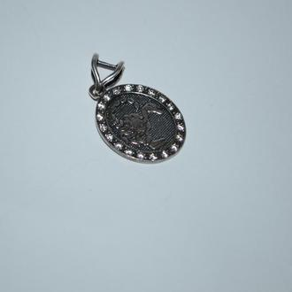 новый кулон подвес с фианитами скорпион серебро 925 проба вес 2,44 грамм