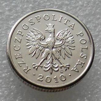 Польша 20 грош 2010 года