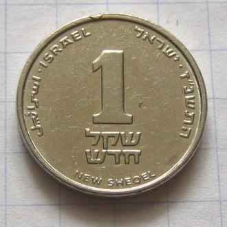 Израиль _ 1 новый шекель с оборота