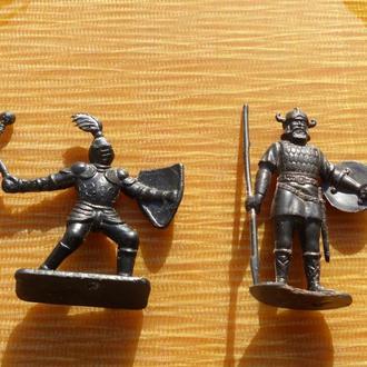 -- Солдатики СССР - рыцарь дзи  + викинг