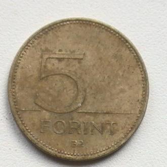 5 Форінт 2002 р Угорщина 5 Форинт 2002 г Венгрия