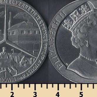 Мэн остров 1 крона 1989