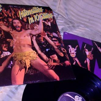 Ted Nugent  Intensities In 10 Cities  1981  Epic Holland  OIS  NM + / NM +