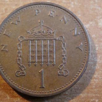 Великобритания 1 пенни 1979