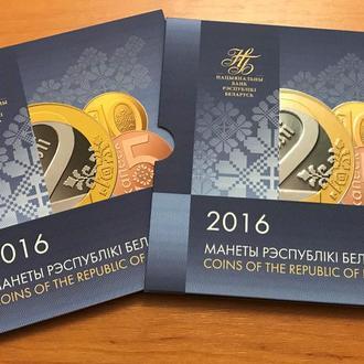 Беларусь - Годовой набор ПЕРВЫХ обиходных монет, 2009 (2016) BU