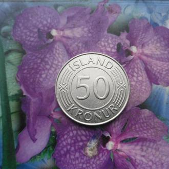 Исландия 50крон 1968г